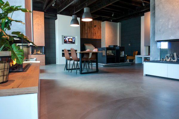 Exclusieve Gietvloer Woonkamer : Exclusieve vloeren en wanden interieur studio3xs